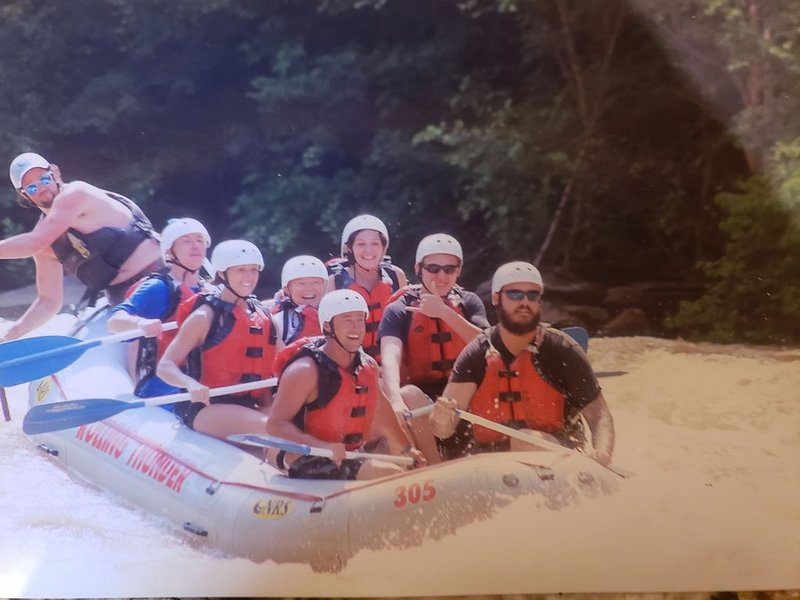 Whitewater rafting on the Ocoee River is a blast!  Its just a few minutes away!!