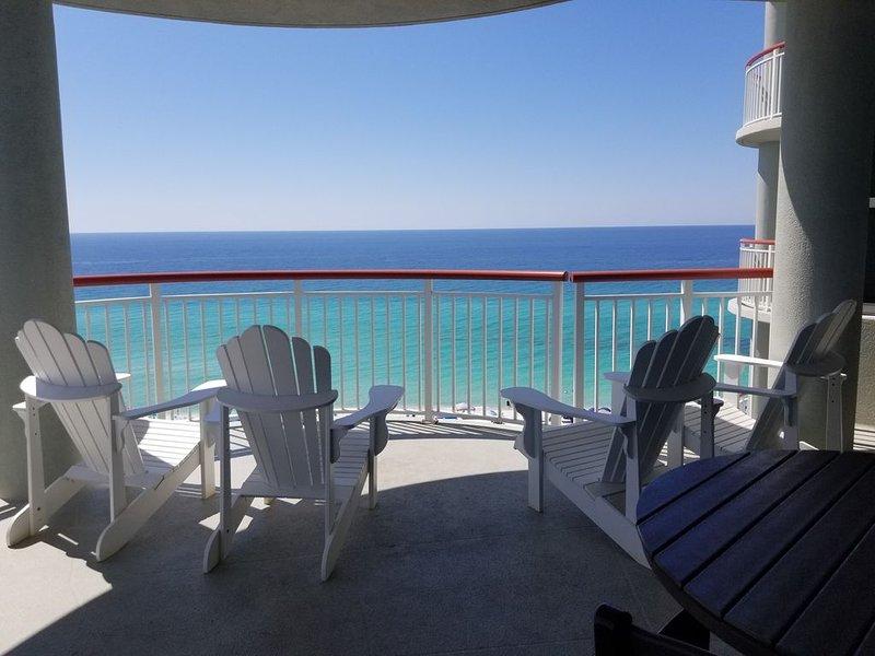 GULF FRONT. Free Beach service(Mar - OCT)., alquiler de vacaciones en Navarre