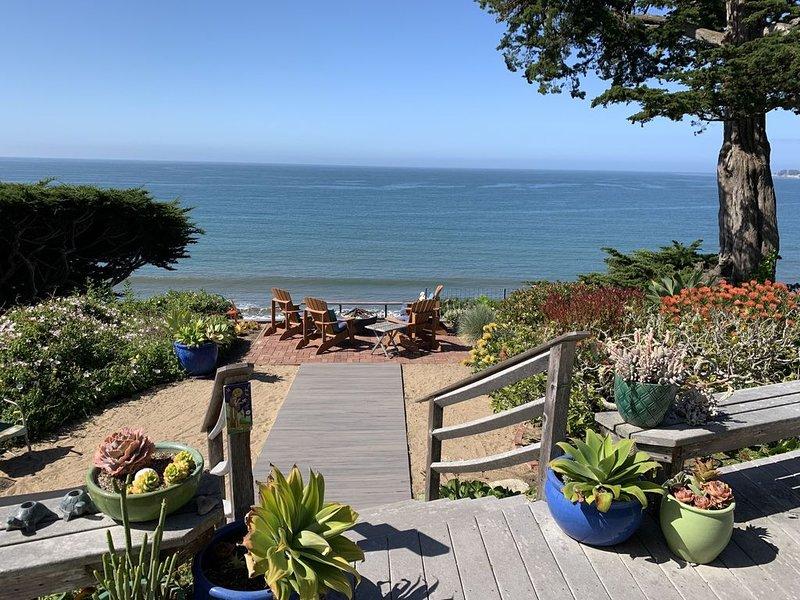 Dramatic Ocean Views, Steps From Beach, holiday rental in Aptos