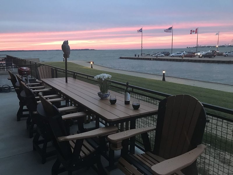 relax and enjoy sunrise/sunset comfortably in new adirondack furniture!