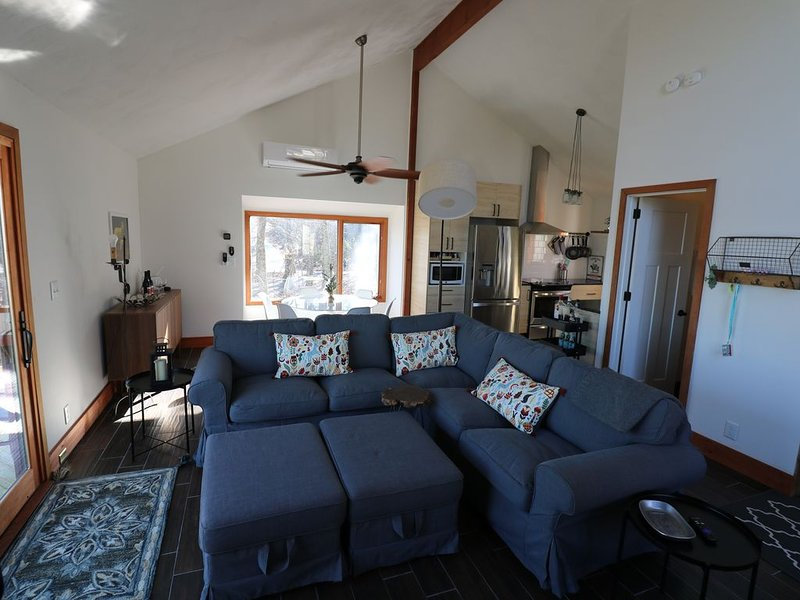 Newly Remodeled 3BR/2BA Ski Chalet off Tyro Slope, alquiler vacacional en Lovingston