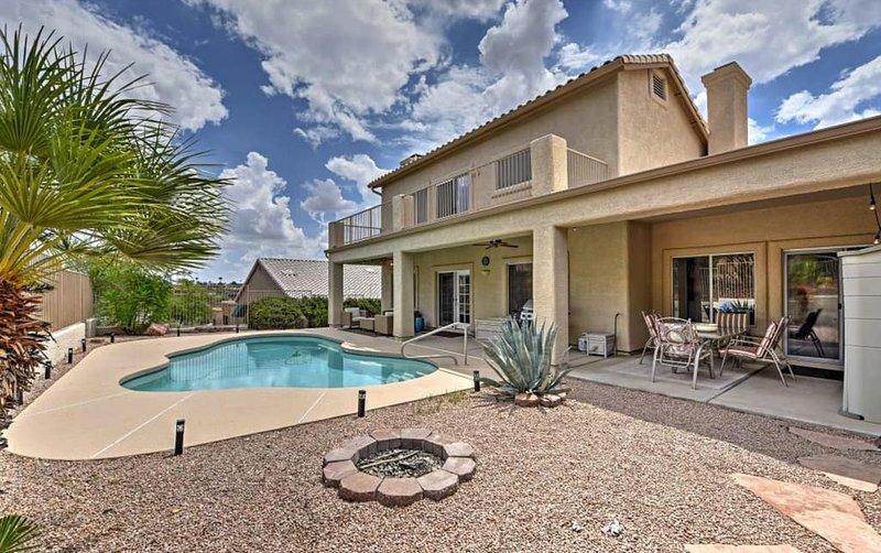 3BR Fountain Hills w/Pool & Desert Garden, casa vacanza a Fountain Hills