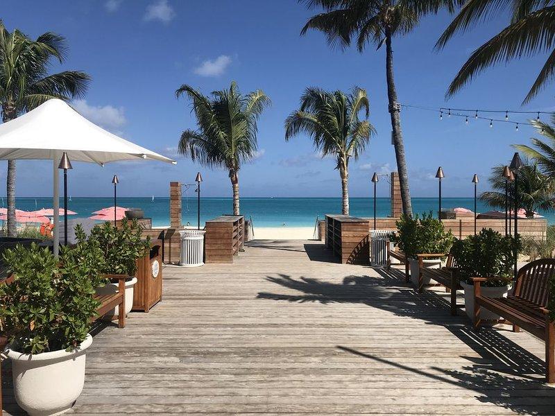 Restaurante Solano en la playa en OCW
