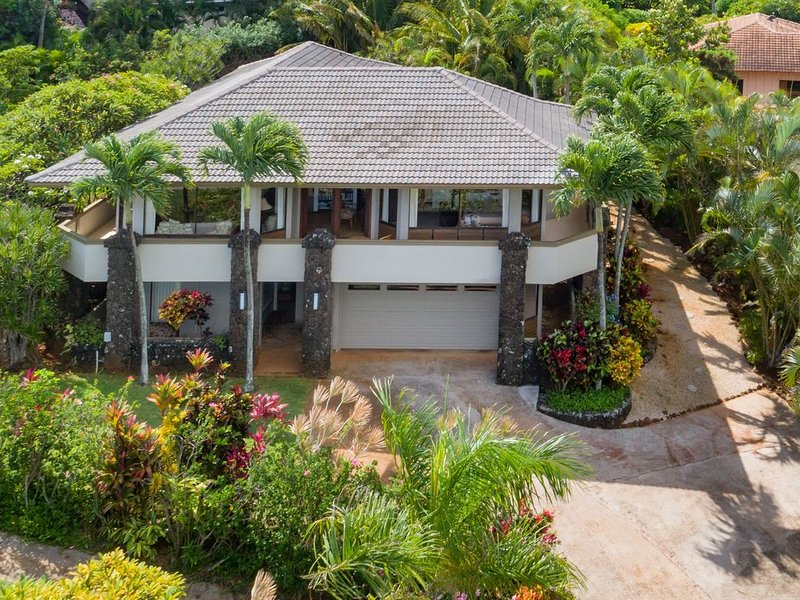 Plumeria House, Poipu Beach, Koloa Home with a View, Ferienwohnung in Koloa