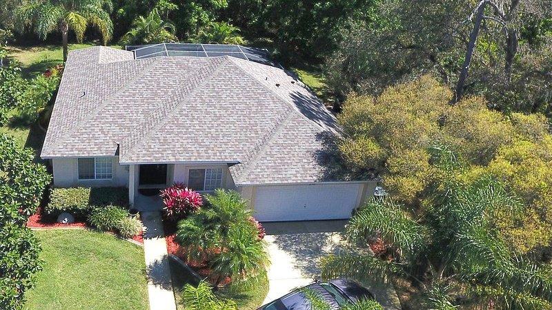 ¡Disfruta de la naturaleza en Breezy Oak Villa, con estacionamiento en tu puerta!