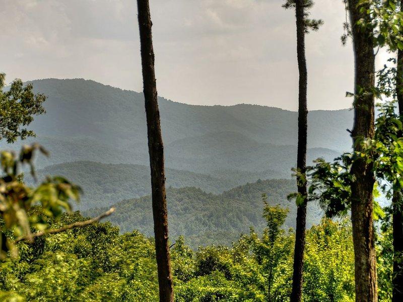 Ano extraordinário rodada vista de Rich Mountain Wilderness.