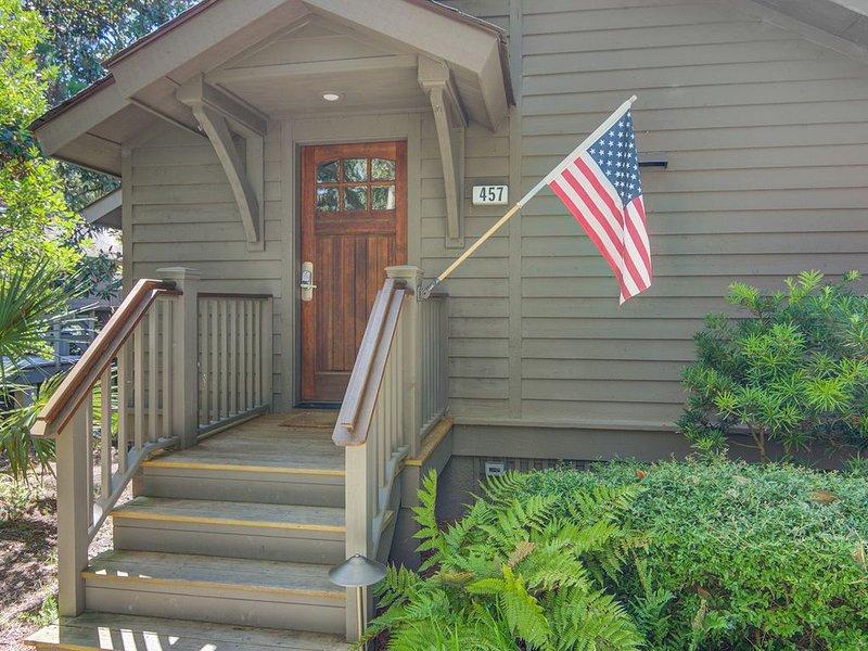 Family Retreat--Closest Oceanwoods Rental to Beach, Screened Porch, WiFi, alquiler de vacaciones en Kiawah Island