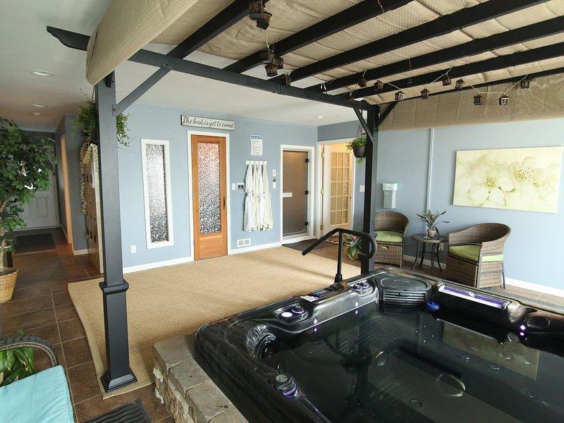Enjoy a spa experience during your vacation, aluguéis de temporada em Charlotte