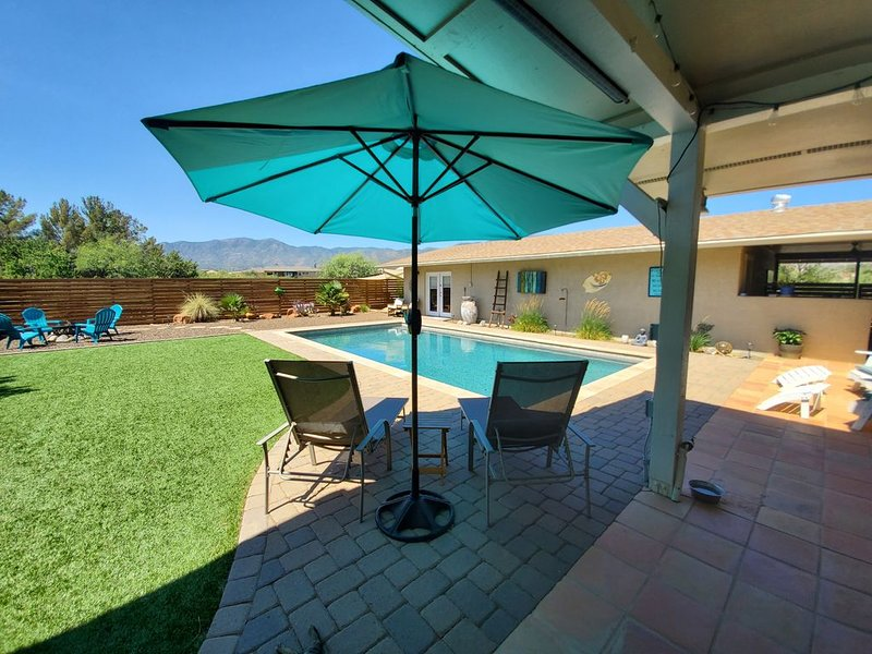 HOT TUB Coming 4/21 Casa Buena Vista Guest Studio VIEWS, PRIVACY, POOL 2.5 ACRES, holiday rental in Cottonwood