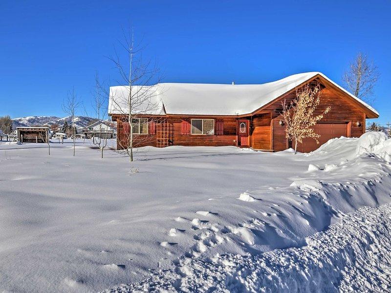 Mary Ann's Mountain Maison - ski JH & Grand Targhee; garage, aluguéis de temporada em Victor