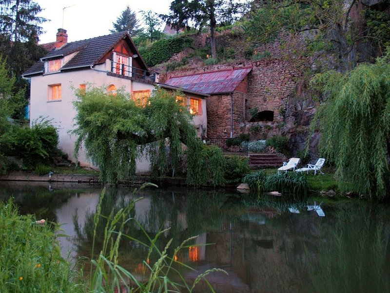 Cozy Riverfront House with Views in Charming Medieval Town - Discounts Available, holiday rental in Semur-en-Auxois