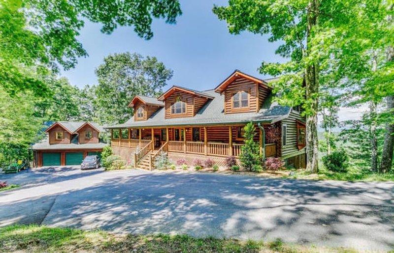 True log cabin architecture.