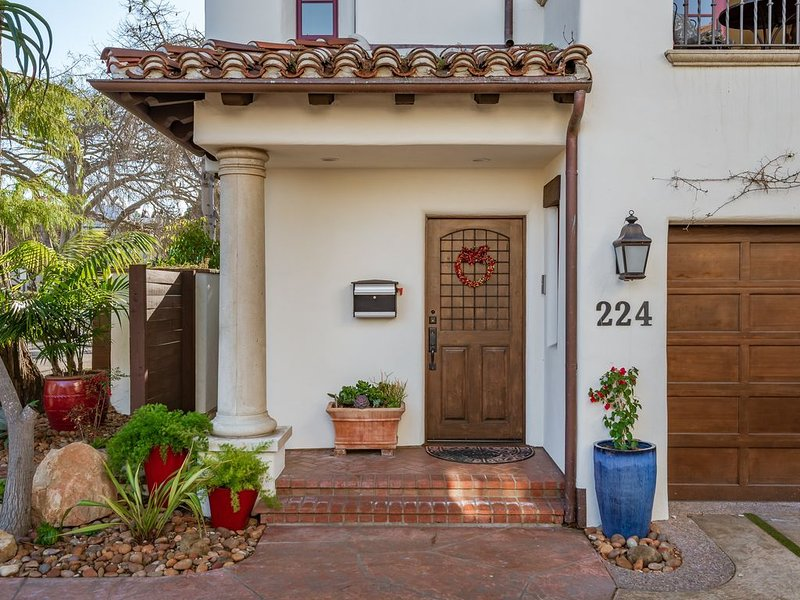 3 Blocks to beach and Funk zone, World Class Living, luxury, vacation rental in Santa Barbara