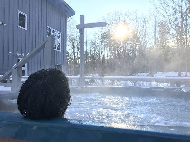 """Un baño de """"apres ski"""" en la bañera de hidromasaje, ¿alguien?"""
