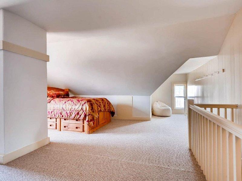 Bonus 3rd floor room with double bed