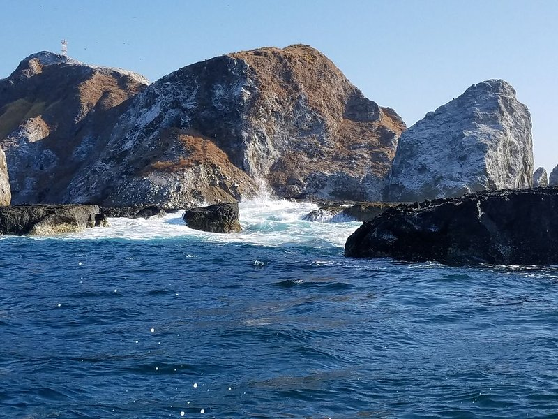 Nearby Cabo Blanco