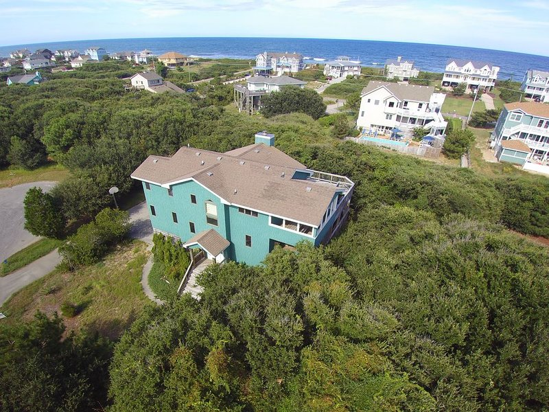 Private location with panoramic ocean views