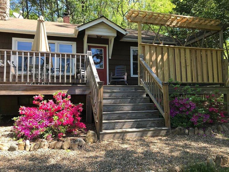 Black Mtn.Hideaway: Romantic Mtn.Views, Hot Tub, & Pet Friendly!, vacation rental in Black Mountain