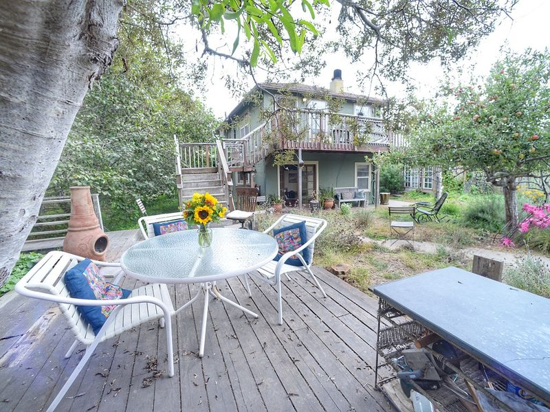Family Beach House -  Retreats, small Events, Weddings; Creekside Stinson Beach, alquiler de vacaciones en Bolinas
