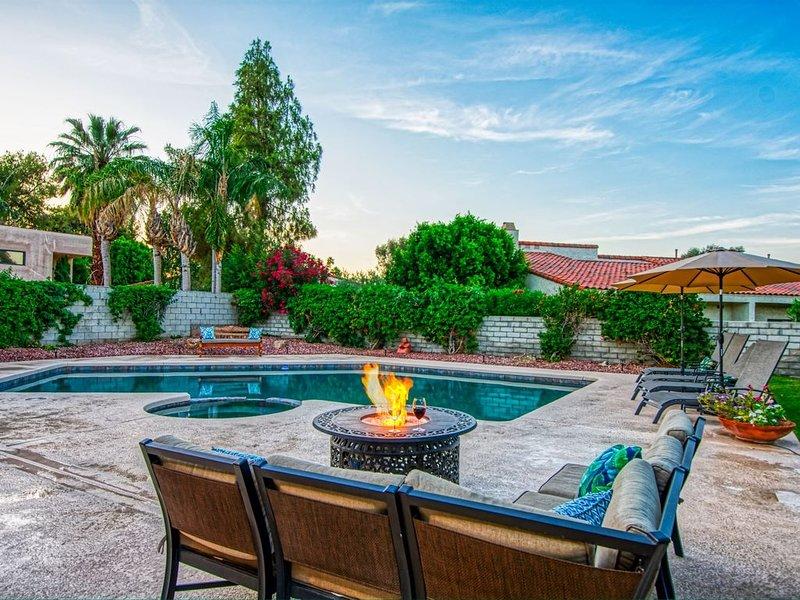 Welcome to your private Tranquil Desert Oasis!  Near El Paseo & Living Desert., alquiler de vacaciones en Palm Desert