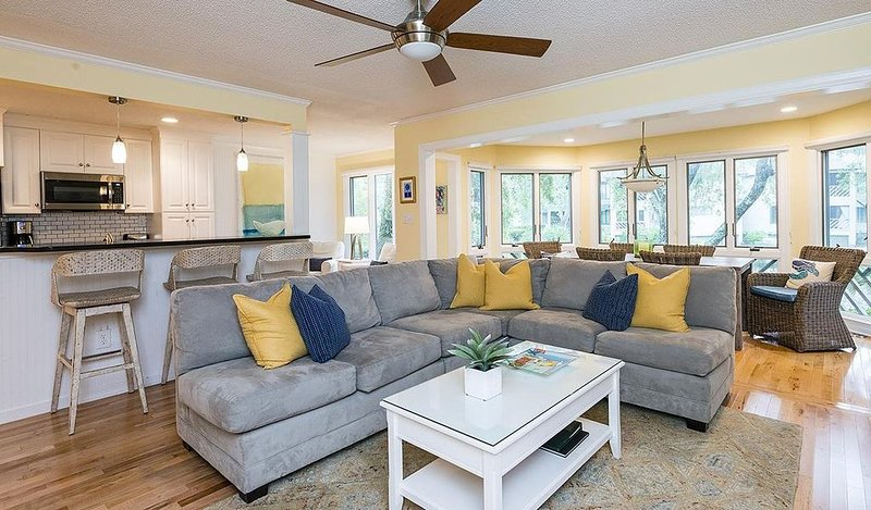 Premire Villa, Full Resort Privileges, Beautiful Lagoon View & Great Location!, alquiler de vacaciones en Kiawah Island