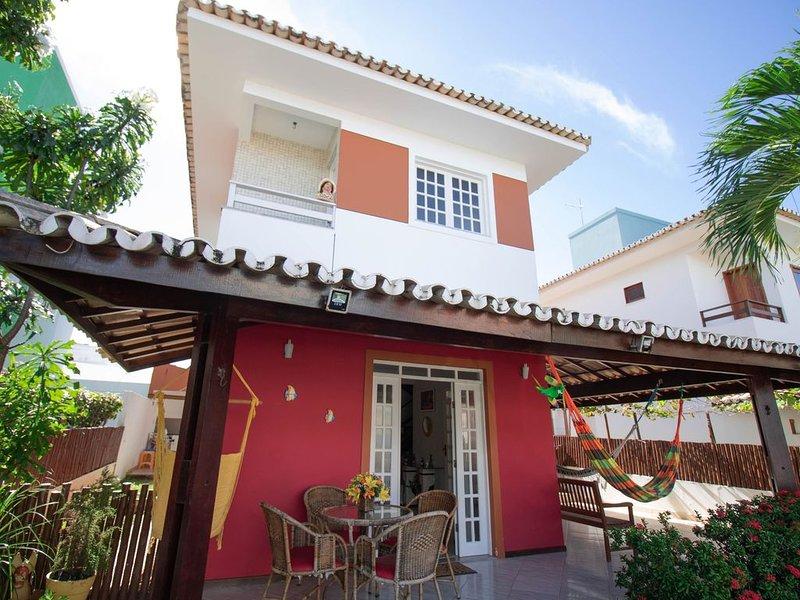 GB07 Ótima Casa 4 Suítes em Guarajuba com Piscina, vacation rental in Guarajuba