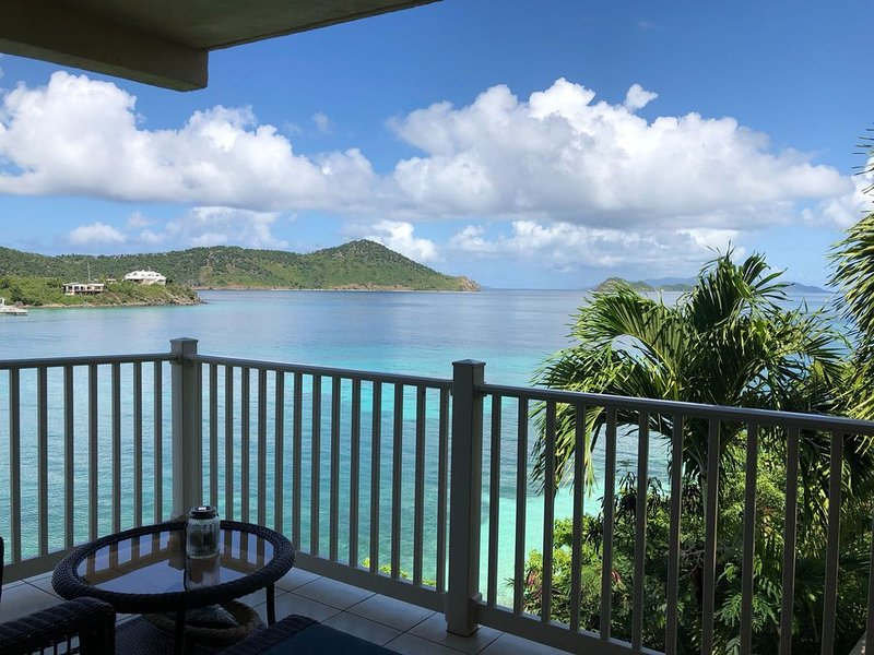 Relax on the balcony and enjoy the amazing views.