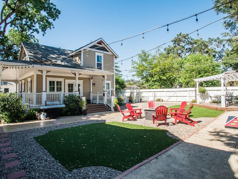 Find 'Bliss' at Downtown Paso Robles Vacation Home, casa vacanza a Paso Robles