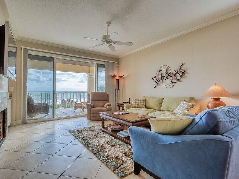 Oceanfront Luxury w/ surf & sand views. Few min.to St.Aug, alquiler de vacaciones en Saint Augustine