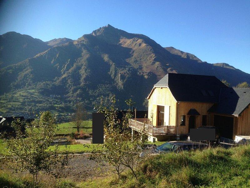 Chalet - Vue sur Laruns, location de vacances à Bearn-Basque Country