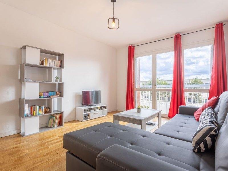 Appartement pour 6 personnes à proximité de la doua - Parking – semesterbostad i Villeurbanne