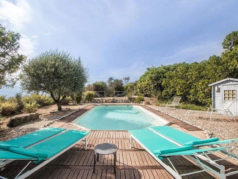 Superbe maison californienne collines Niçoises, location de vacances à Gilette