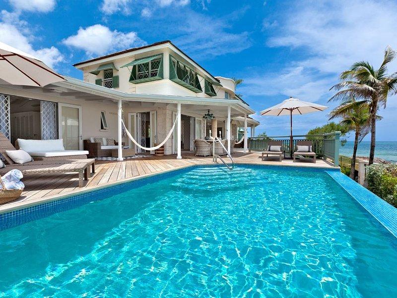Amazing Beachfront Villa With Pool - Emily House – semesterbostad i Atlantic Shores