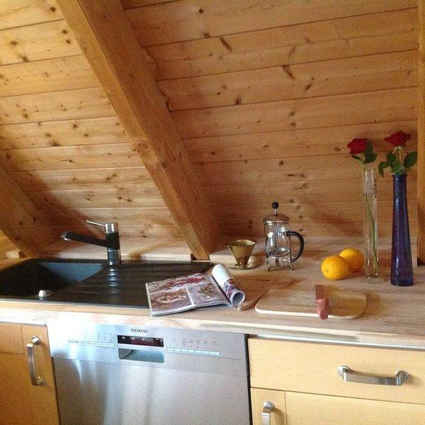 Großzügige Wohnung, 2 Schlafzimmer, großer Wohn/Kochbereich,, alquiler vacacional en Warendorf