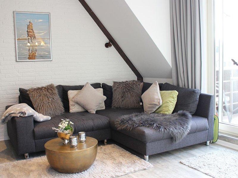 ****Appartement in Strandnähe von Sankt Peter-Ording, holiday rental in Sankt Peter-Ording