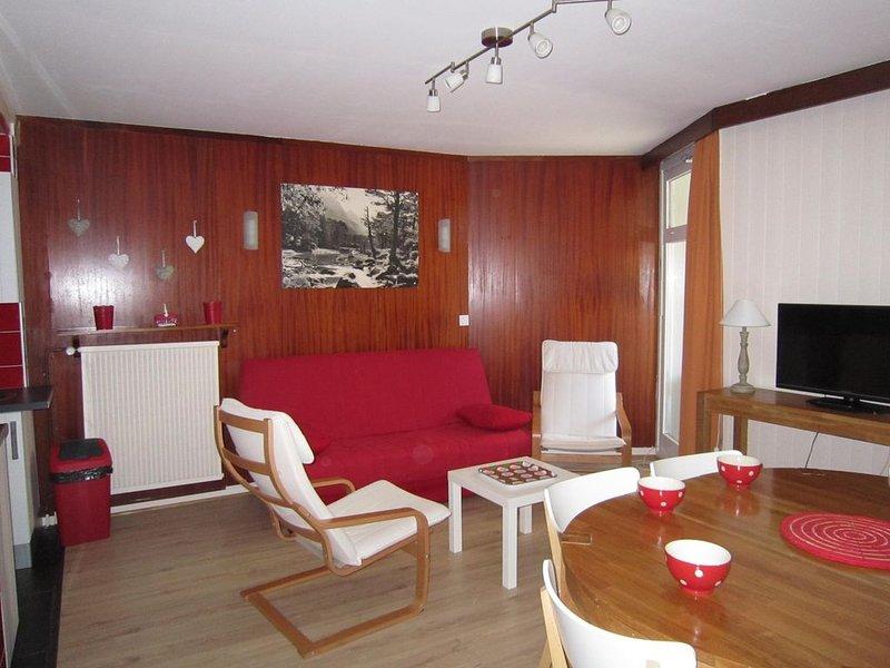 Séjour à La Mongie Appartement face aux pistes, alquiler de vacaciones en Sainte-Marie-de-Campan