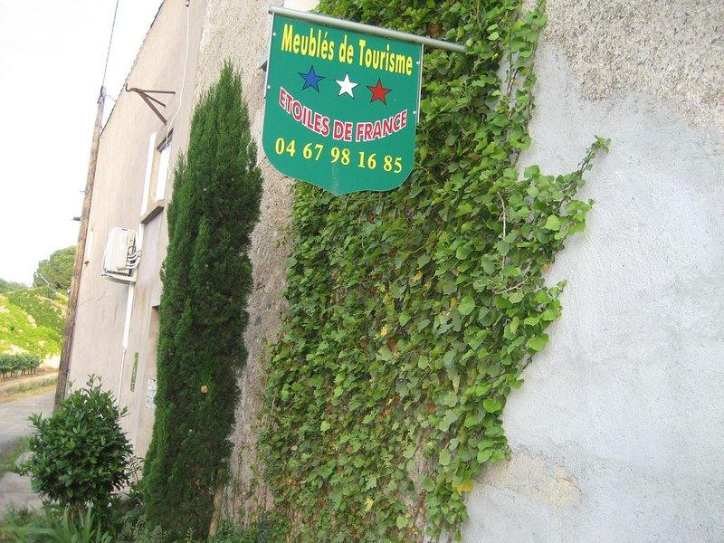 'Le Jardin ' maison de campagne  climatisée avec Piscine privée)  à 20km d'Agd, location de vacances à Pezenas