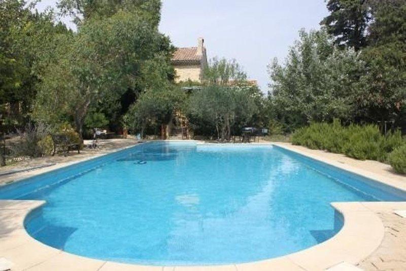 Mas provençal avec piscine, prestations de qualité  Promotion festival Avignon, holiday rental in Codolet