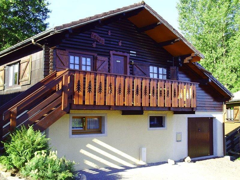 Chalet au pied de la route  du ballon d'Alsace  hautes Vosges, vacation rental in Le Thillot
