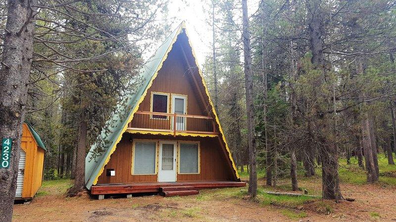 Cozy Cabin!  Close to Yellowstone entrance! Golf Course! WiFi, aluguéis de temporada em Island Park
