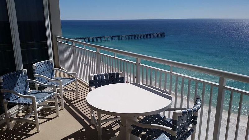 Sugar White Sand & Emerald Waters! Beautiful Gulf Views from 16th Floor!, vacation rental in Navarre