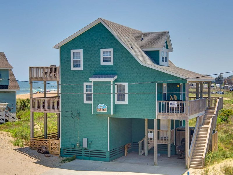 SEMI-OCEANFRONT, GORGEOUS VIEWS, 5 BR , 3 1/2 BA, Dogs Allowed, location de vacances à Rodanthe