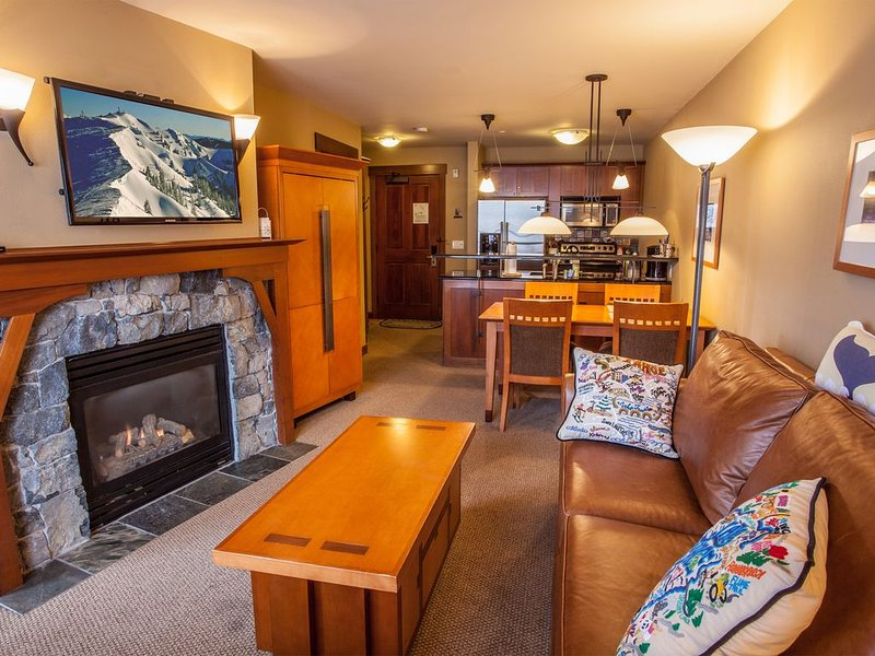 Village at Squaw Valley - 1BR/1BA, Ski-In/Ski-Out, Walk to Ski and Walk to Shops, alquiler de vacaciones en Olympic Valley
