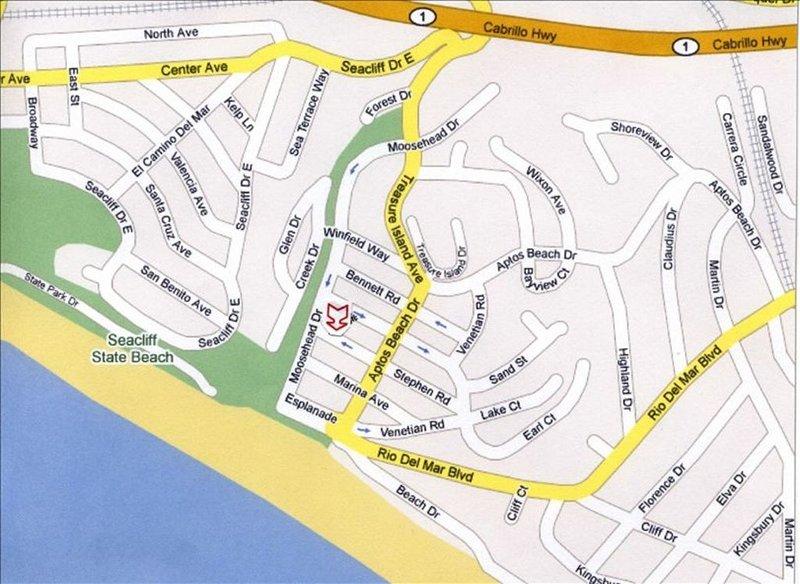 2 ruas de volta da praia - apartamento a pé da praia!