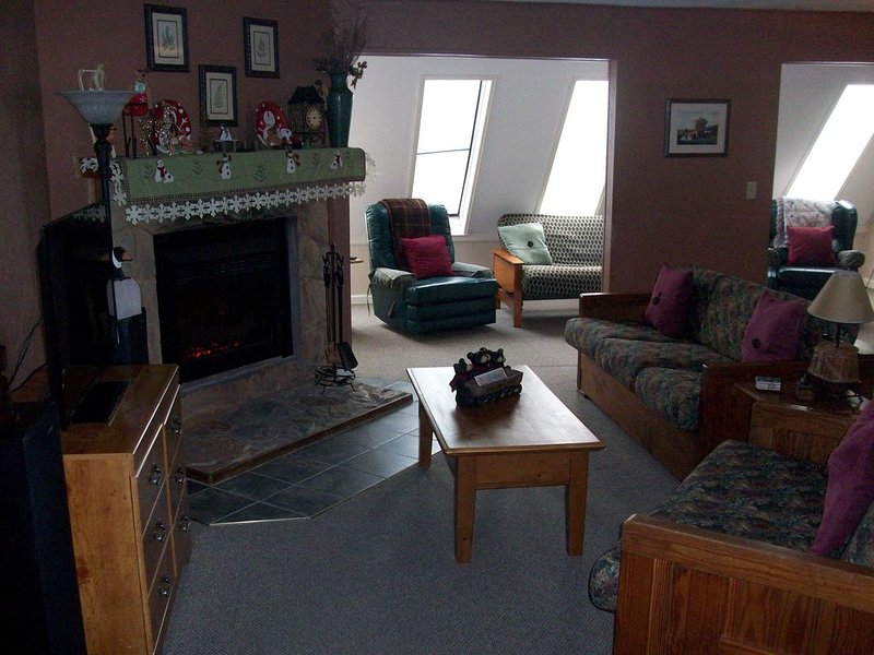 Leatherbark 2 BR Condo, Sleeps 8, Comfy, and Convenient., location de vacances à Snowshoe