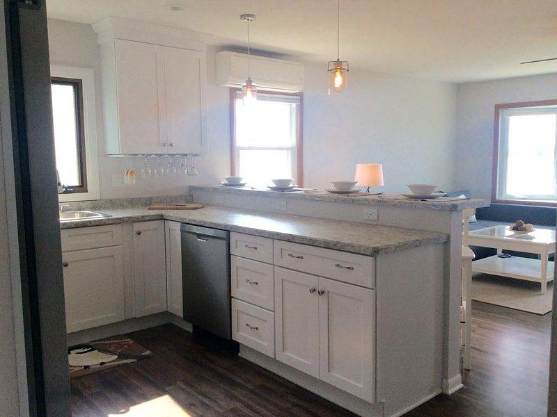 Updated Kitchen with Breakfast Bar