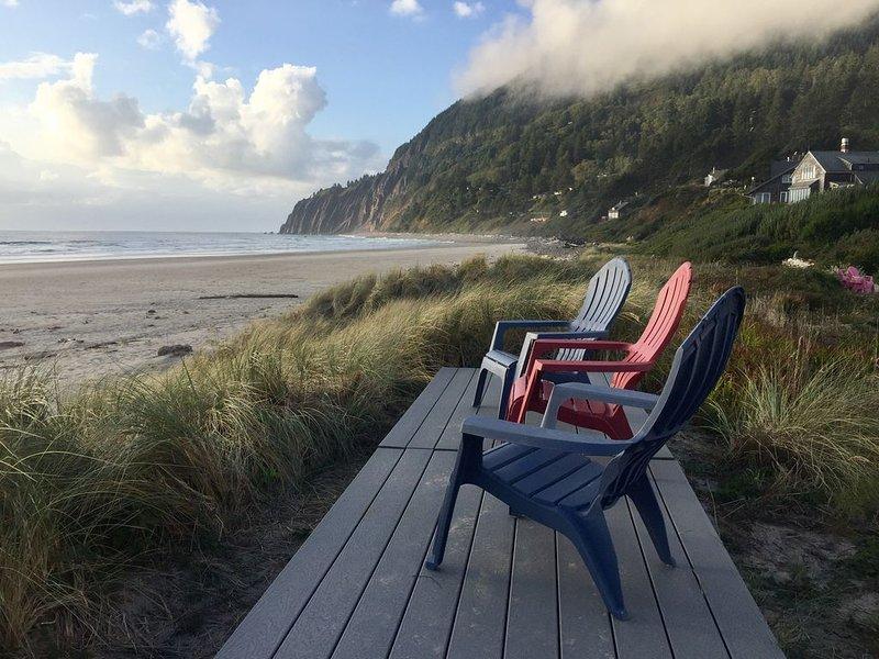 Manzanita Oregon Beachfront Home, alquiler de vacaciones en Nehalem