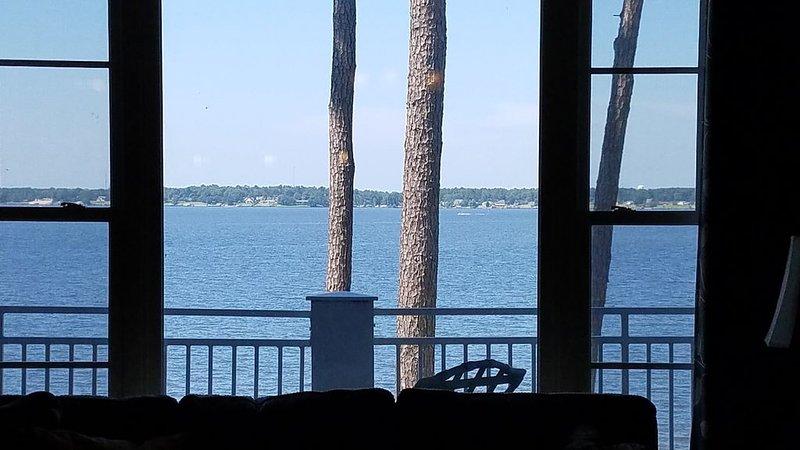 Você literalmente sente que está bem no lago. VISUALIZAÇÕES . . . VISUALIZAÇÕES. . . VISUALIZAÇÕES!