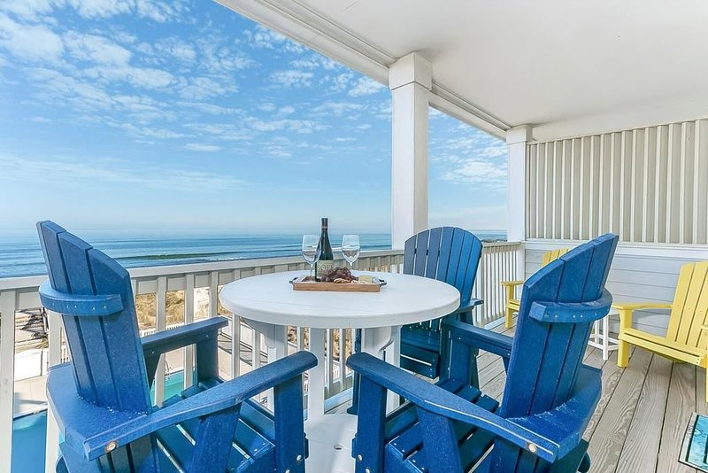 Oceanfront *Seven C's Condo Oceanviews Balcony Pool Elevator (SC303 - Seaside Dr, holiday rental in Kill Devil Hills