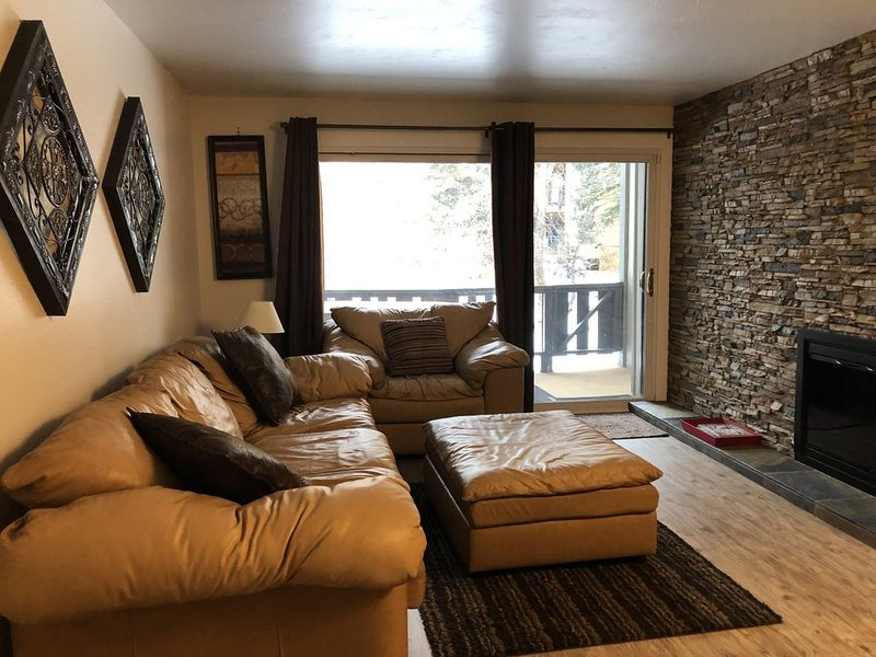 Private hot tub,  Walking distance to everything, Beautiful one bedroom, holiday rental in Vail
